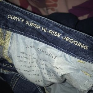American Eagle Outfitters Jeans - AE curvy super hi-rise jegging